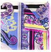 Etro floral print scarf - women - Silk - One Size