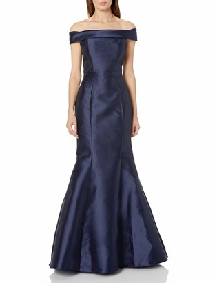 Xscape Evenings Women's Long Mikado Off The Shoulder Mermaid Gown
