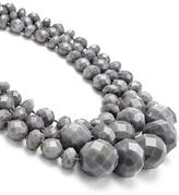 Kate Spade accessories Grey Swirl Triple Row Necklace