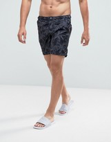 Superdry Swim Shorts With Leaf Print