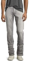 John Varvatos Wight Slim-Straight Jeans, Gray