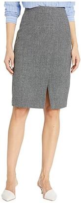 Nic+Zoe Forever Flannel Skirt (Black Mix) Women's Skirt
