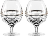 Waterford Elysian Clear Brandy Glasses, Set of 2
