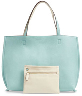 Street Level Mint Reversible Tote