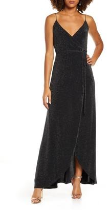 Lulus Celestial Wrap Dress
