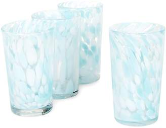 Fifth Avenue Crystal Splash 4-Piece Crystal Drinking Glasses