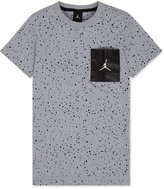 Jordan Boys' Splatter-Print Pocket T-Shirt