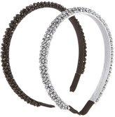 Copper Key 2-Pack Crystal-Embellished Headbands
