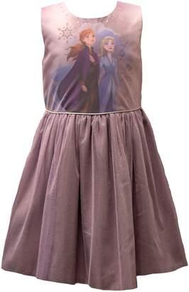 Disney Little Girl's Frozen Graphic Mesh Dress