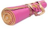 Holistic Silk Yoga Rug Mat Pink