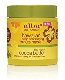 Alba Hawaiian Cocoa Butter Deep Conditioning Minute Mask, 5.5 Ounce