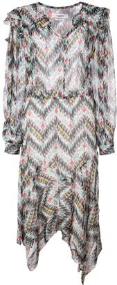 Etoile Isabel Marant Printed Midi Dress