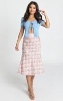 Showpo Lasting Love Skirt in multi floral - 6 (XS) Midi Skirts