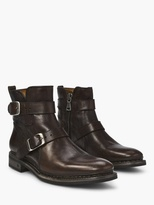 John Varvatos Norwegian Buckle Boot
