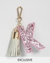 Skinnydip Alphabet Keychain Letter K