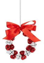 Lord & Taylor Jingle Bell Wreath Ornament