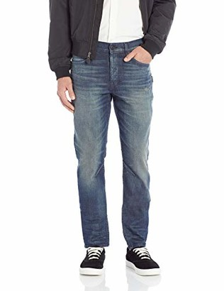 Hudson Men's Sartor Relaxed Skinny with Exposed SS Zippers