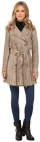BB Dakota Edsel Faux Suede Trench Coat