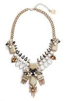 Adia Kibur Women's Crystal & Spike Statement Necklace