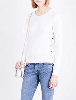 MICHAEL Michael Kors Lace-up sides cotton knitted jumper
