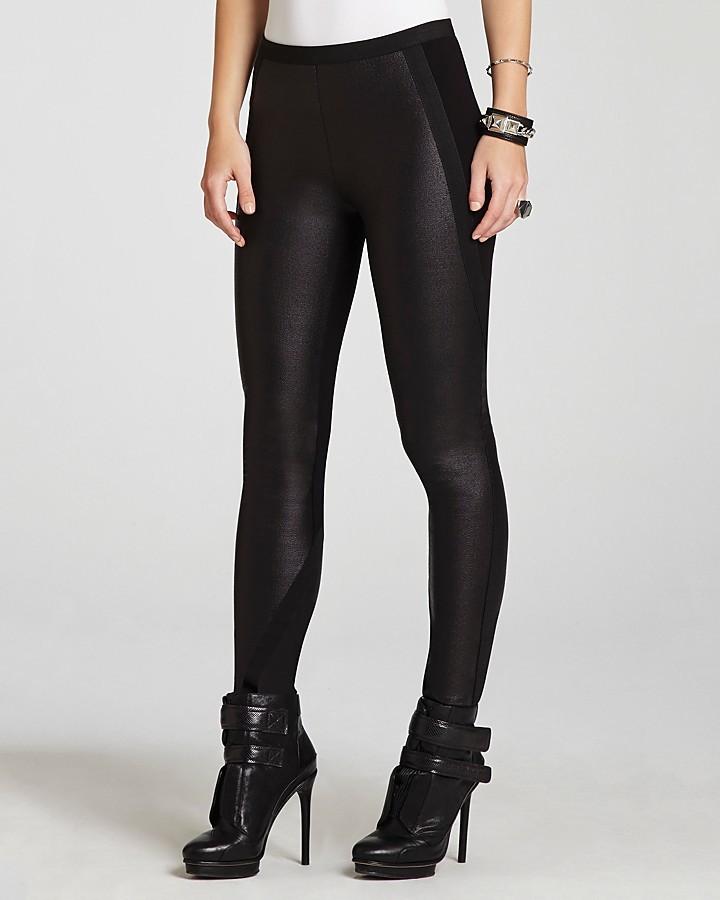BCBGMAXAZRIA Leggings - Ladyn Contrast