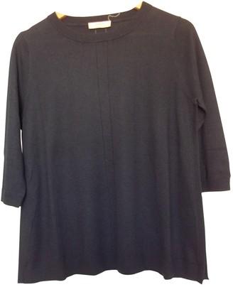 BA&SH Bash Navy Silk Knitwear for Women