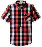 Lrg Men's Illumination Short Sleeve Woven Shirt
