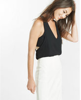 Express cut-out bandeau tank