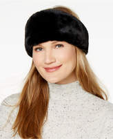 INC International Concepts Reversible Velvet & Faux-Fur Headband, Created for Macy's