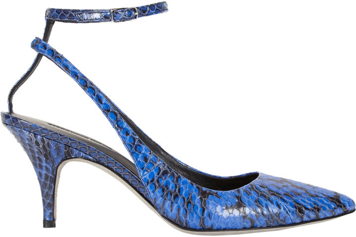 Alexander Wang Lera Slingback Ankle-strap Pumps