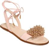 Aquazzura Monaco Mini Suede Sandals