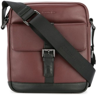Cerruti Buckled Messenger Bag