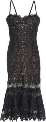 Jonathan Simkhai Paneled Tulle And Guipure Lace Dress