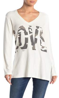 Couture Go V-Neck Basic Hacci Sweater