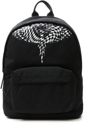 Marcelo Burlon County of Milan Geometric Wings Print Backpack