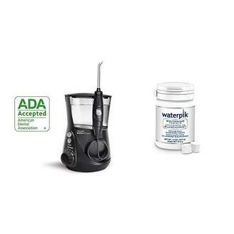 Waterpik Water Flosser Electric Dental Countertop Oral Irrigator For Teeth - Aquarius Professional