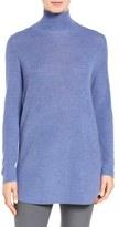 Eileen Fisher Fine Rib Merino Turtleneck Tunic (Regular & Petite)