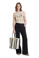 Country Road Tailored Linen Pant