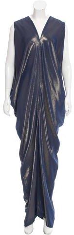 Zero Maria Cornejo Libi Metallic Dress w/ Tags