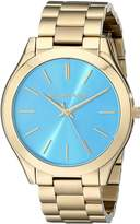 Michael Kors Women's Slim Runway MK3265 Stainless-Steel Quartz Watch