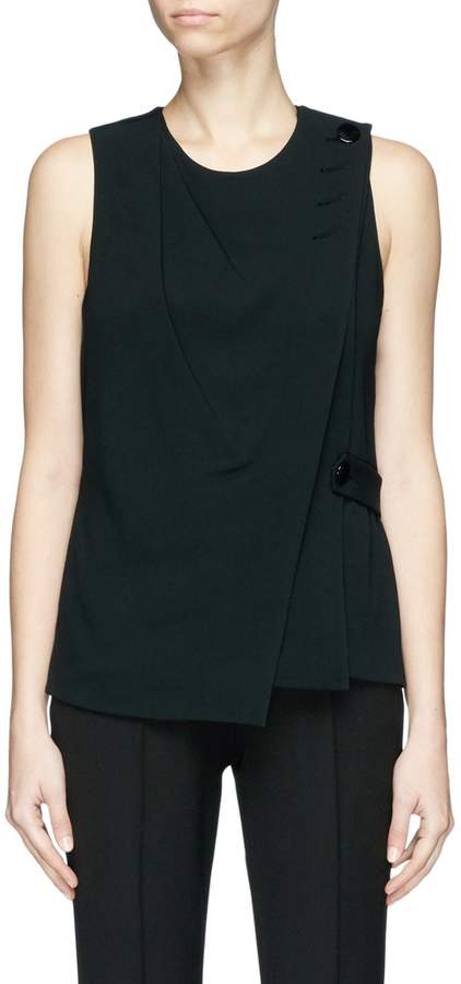 Alexander Wang Mock wrap sleeveless top