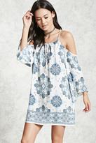 Forever 21 Contemporary Ornate Print Dress