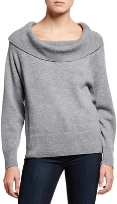 Paige Izabella Off-Shoulder Sweater