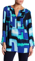 Chaus Abstract Print Blouse