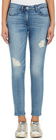 3x1 WOMEN'S BERGN CROP PENCIL JEANS