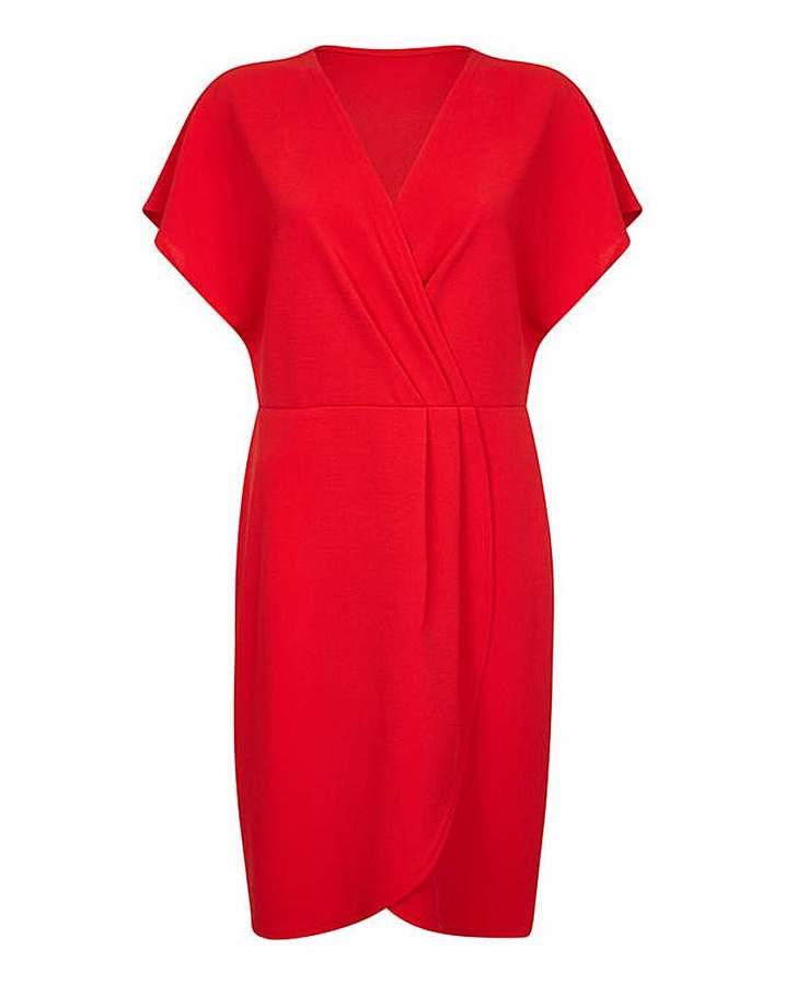Yumi Marta Jonsson London Curve Wrap Party Dress