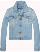 Tommy Hilfiger Girls Denim Jacket Slbpstr