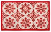 Threshold Red/Gray Patterned Comfort Kitchen Floor Mat 34X22
