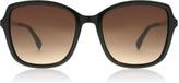 Karen Millen KM5002 Sunglasses Black 001 55mm