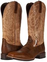 Ariat Barton (Ultra Matte Brown Croco Print/Sand) Cowboy Boots